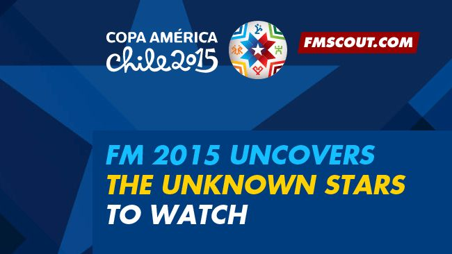 Copa America 2015: FM15 uncovers the unknown stars to watch