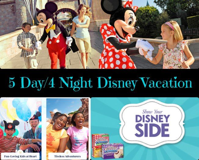 Sponsored: Check out this amazing 5 day/4 night Disney Vacation Giveaway for 4 people from Disney and Smucker's Uncrustables! I wanna win!