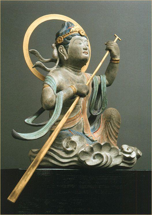 Zen and the art of paddling. 救世舟乗観音の画像