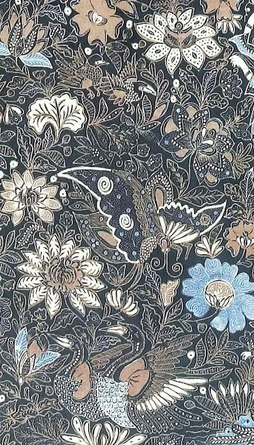 Batik of Javanese from Indonesian