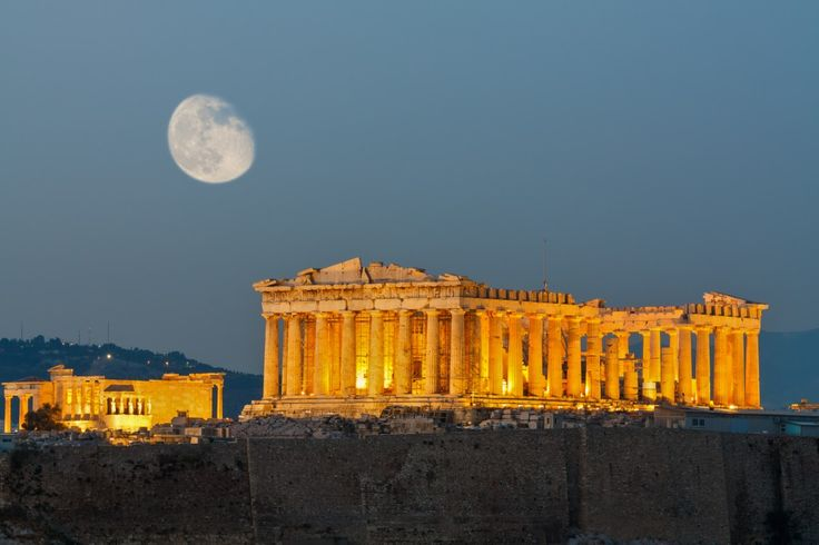 The #Parthenon is a temple on the Athenian Acropolis, dedicated to the goddess Athena, whom the people of Athens considered their patron | #Greece