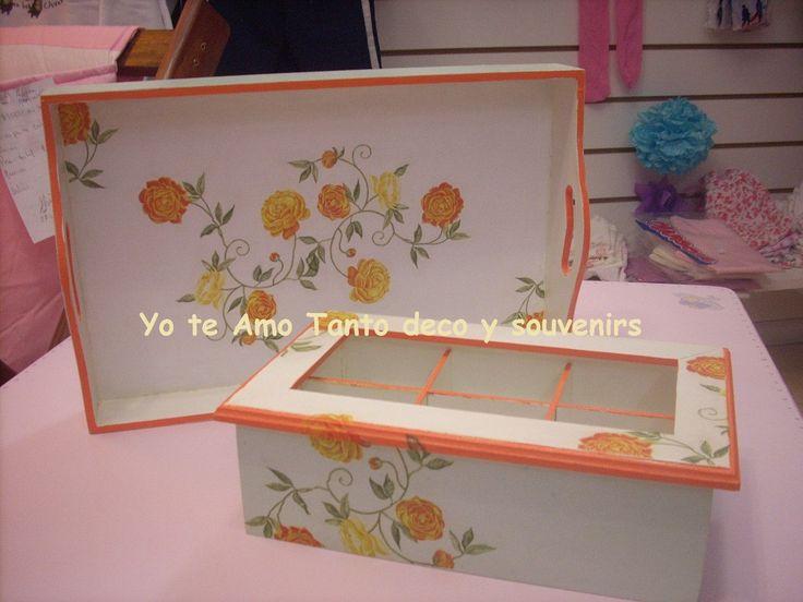 219 best t cnica de decoupage images on pinterest - Decoracion de cajas ...