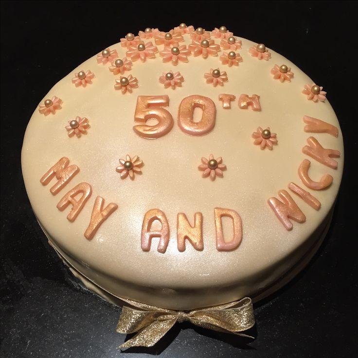50th Anniversary Cake. 😘😘