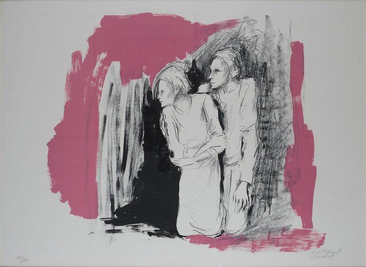 Montserrat Gudiol (Catalan, 1933) Litografia #art #gudiol #dolorsjunyent