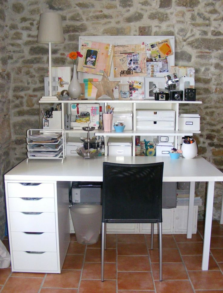 find this pin and more on craft desk ideas - Craft Desk Ideas