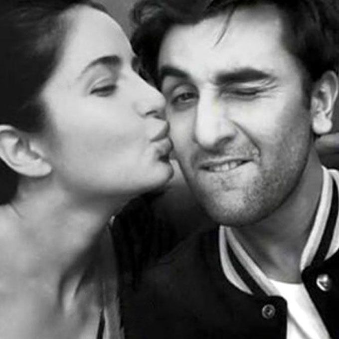 Ranbir Katrina Love Story Candid Kiss Photo Instagram