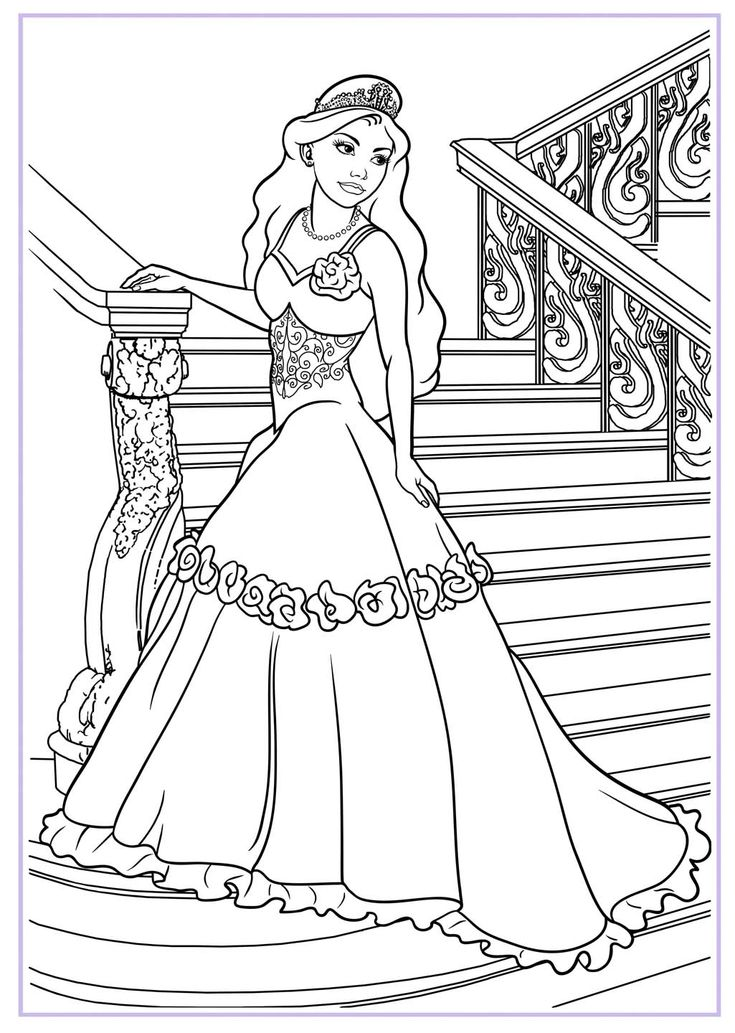Barbie Coloring Pages On Computer : Best images about ausmalbilder barbie on pinterest