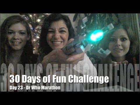 30 Days of Fun Challenge - Day 23 Dr Who Marathon