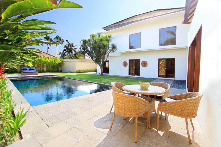 Villa Eight | 4 bedrooms | Sanur, Bali #villa #bali #exterior #poolside #dining #photo #swimmingpool