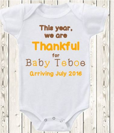 thanksgiving pregnancy shirt