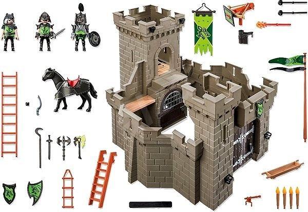 Stavebnice Playmobil 6002 Bašta rytířů řádu Vlka