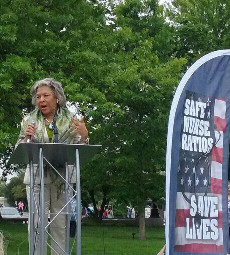 Congresswoman Joyce Beatty Co sponsor bill S864 & H.R. 1602 for National Nurse Patient Ratios
