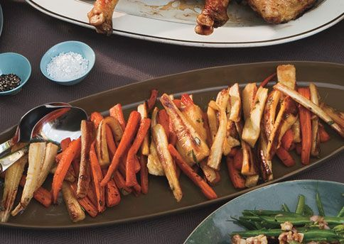 Thanksgiving - Roasted Carrots and Parsnips with White Balsamic by bon ...