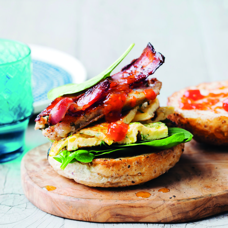 PSST! Here's the best way to surprise dad this Father's Day #Breakfast #Burger #FathersDay
