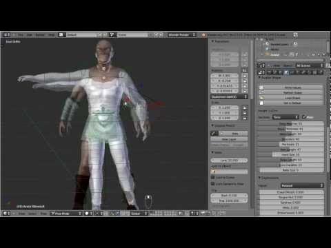 ▶ Avastar: -3- Mesh Tools - YouTube