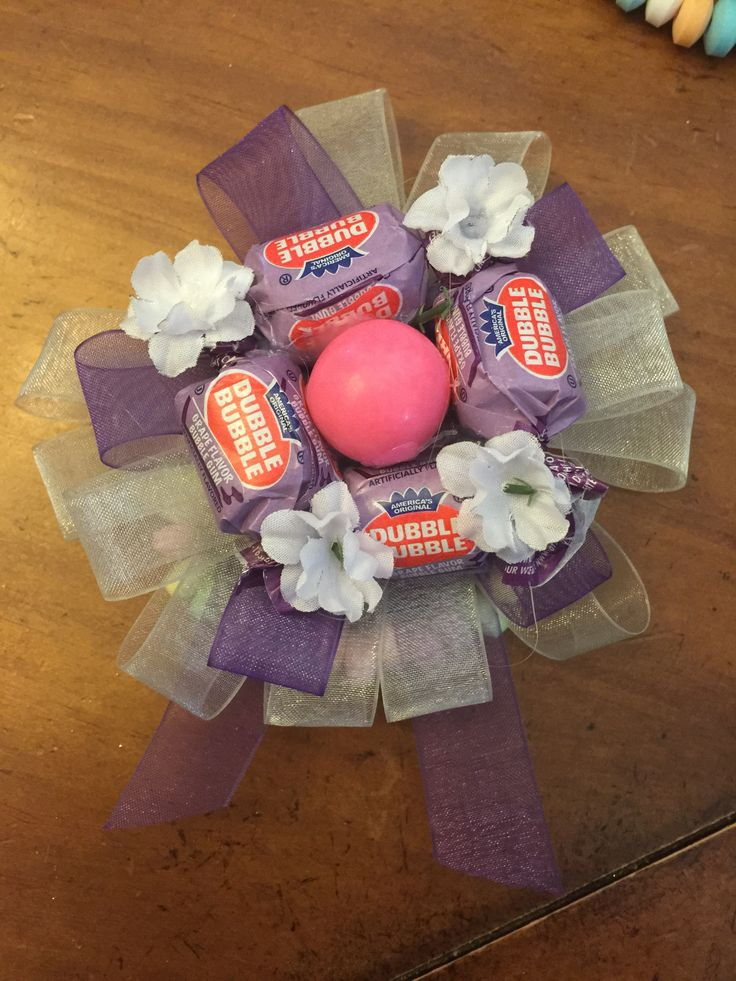 Candy corsage for father daughter dance
