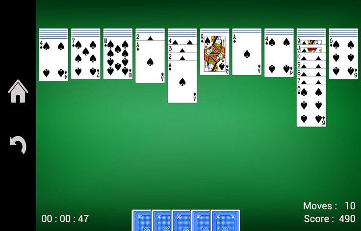 Spider Solitaire- screenshot