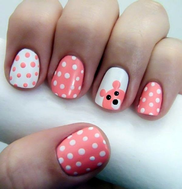 45 Cute Valentine Nail Art Designs to spread Love