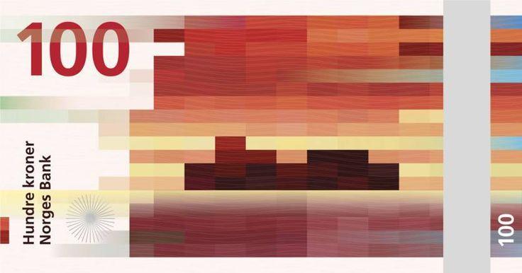 Snøhetta - Design de billet pour la banque de Norvège