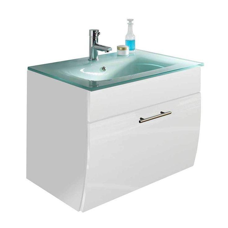 Waschplatz mit Glasbecken Weiß Hochglanz Jetzt bestellen unter: https://moebel.ladendirekt.de/bad/badmoebel/badmoebel-sets/?uid=6e711e97-4341-57e7-bf02-4b58f2210cfe&utm_source=pinterest&utm_medium=pin&utm_campaign=boards #waschtischunterbau #waschschrank #badezimmerkommode #beis #bad #badmoebelsets #waschtischkonsole #waschbeckenunterschrank #badezimmerschrank #schrank #badschrank #badmoebel #waschbeckenschrank #waschtischunterschrank #waschtisch #badeschrank #waschkommode #badezimmer