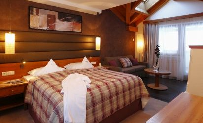 Beautiful panorama suites with pampering room provide the basis for regenerative holidays