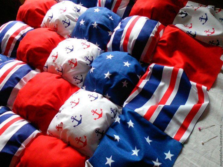 Купить Детское одеяло-бомбон в процессе шитья - дешевле,чем готовое…