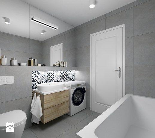 Aranżacje wnętrz - Łazienka: ŁAZIENKA - Średnia łazienka w domu jednorodzinnym bez okna, styl eklektyczny - FORMA - Pracownia Architektury Wnętrz i Krajobrazu. Przeglądaj, dodawaj i zapisuj najlepsze zdjęcia, pomysły i inspiracje designerskie. W bazie mamy już prawie milion fotografii!