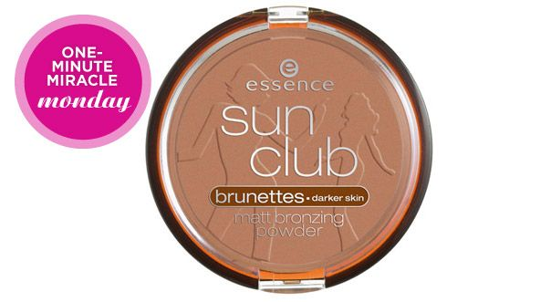 Essence Sun Club Matt Bronzing Powder - $5. One of the best and cheapest matte drugstore bronzers. Great for contouring. They have a shade for blondes and for brunettes. Love!!!