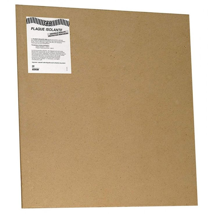 plaque isolante 1000x1000 4mm - GEB