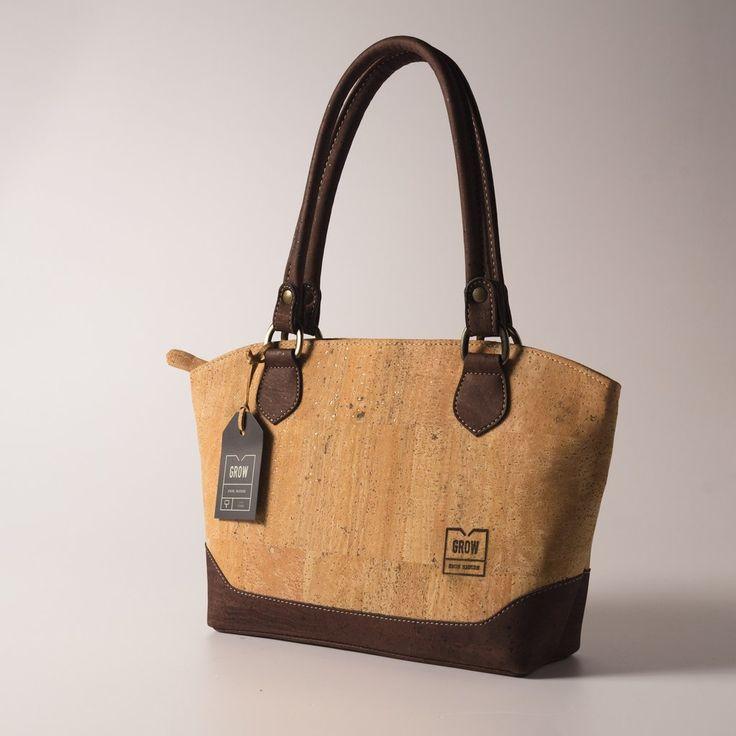 Grow's Quercus Aristata Light Cork Handbag