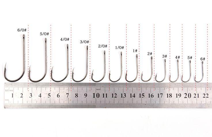 10 unids/lote acero de alto carbono anzuelos de púas Tiny agujero gancho de pesca de la carpa de pesca 12 tamaños 1/0 # - # 6/0 1 # - 6#