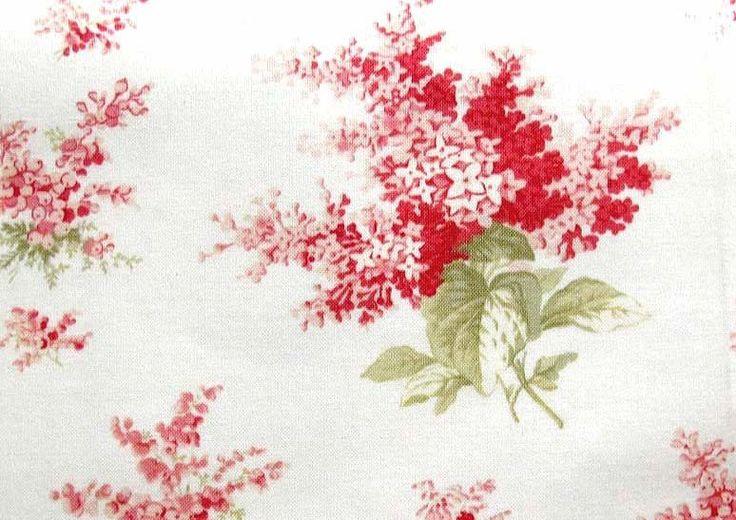 Stoff Blumen - Blumenstoff rosa - ein Designerstück von HE-RO bei DaWanda