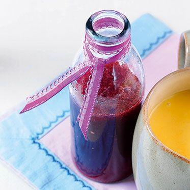 Himbeer-Balsamico-Sirup Rezept   Küchengötter