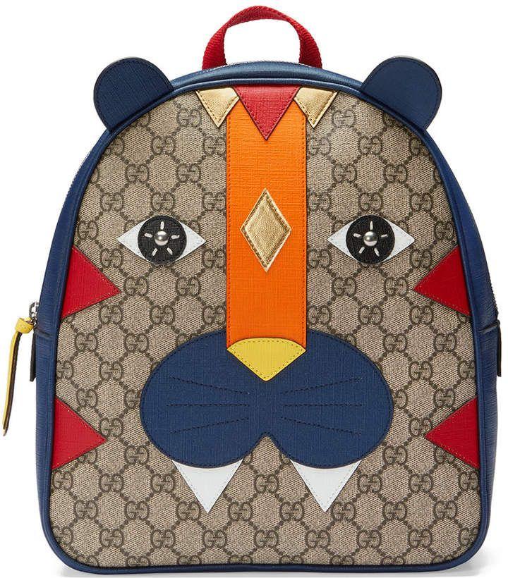 Gucci Kids Children's tiger backpack  #ShopStyle #MyShopStyle click link for more information