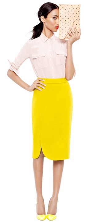 J.Crew knows how to make spring workwear, thats forsure!
