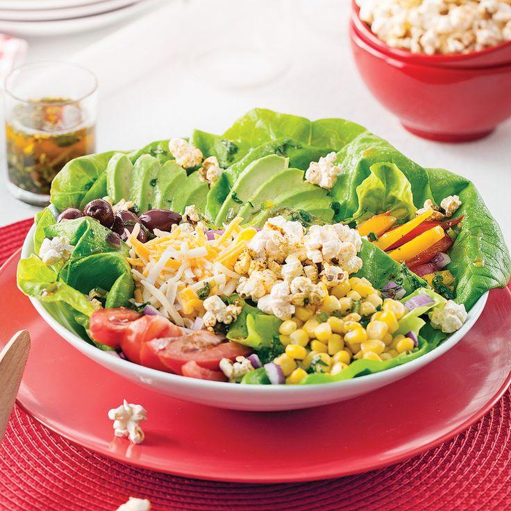 Lepopcornn'est pas seulement tendance au cinéma! Allez-y, ajoutez un peu depopà vos salades!