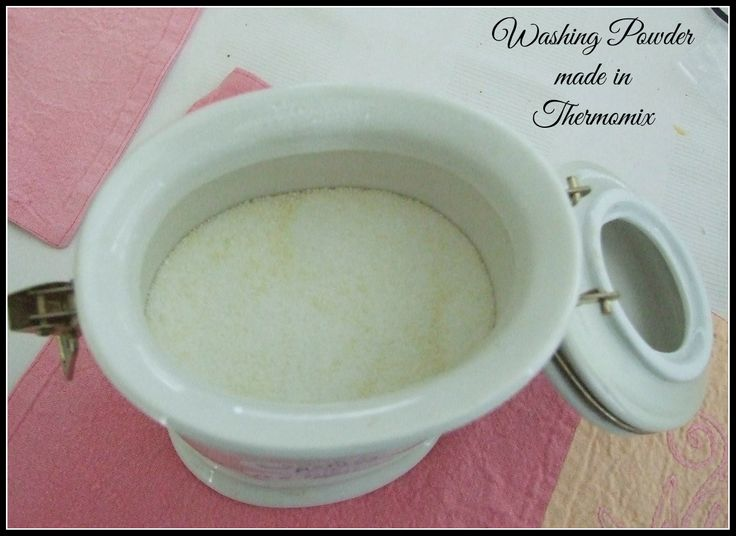 Washing Powder made in my Thermomix