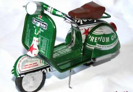 25 Awesome Things Made From Beer Cans