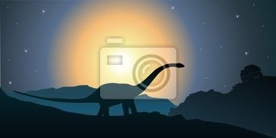 """Bild oder Poster """"darwin, urgeschichte, paleonthologie - dinosaure"""" ✓  Breite Materialauswahl ✓ 365 Tage Rückgaberecht ✓ Sieh die Meinungen unserer Kunden!"""