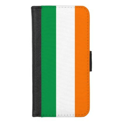 iPhone 7/8 Wallet Case with flag of Ireland - stylish gifts unique cool diy customize