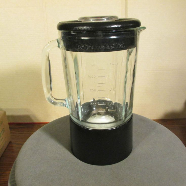 Kitchenaid Blender Replacement Glass Jar Black KSB5OB4 40oz/5cups KSB50B4 | Blenders, Dr. oz and ...