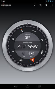 Compass #Android #App - This compass is free (contains ads) and starts fast. It's the most beautiful of all compass apps and supports high definition displays. Starts fast. High definition display support. Supports magnetic and true north over Wi-Fi and GPS. Most beautiful user interface of all compass apps. SDCard install support. #hiking #camping #backpacking