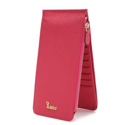 Is Card Package Wallet Cowhide Bit Cards Women Card Package Ms. Wallet Card Card pack & set 16299546747