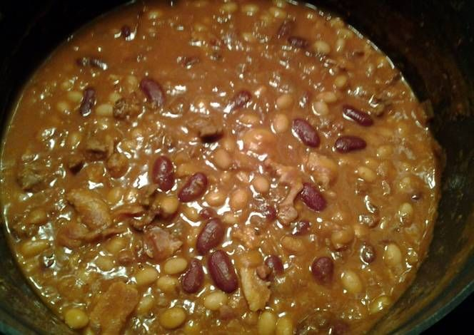 So Easy Calico Beans Recipe by meandbre08 - Cookpad