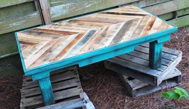 We've discovered our new fave way to decorate on the cheap. It's no secret that home decor can cost a pretty penny. That designer bed set of your dreams? Totally not in the budget. A Picasso-inspired work of art? Not happening. Which is why we're pretty pumped about the newest decor trend: pallets. Not only are they affordable (use them to redecorate without spending a thing!), but they're the perfect way to personalize your nest. So pull up a pallet and get ready to explore t...