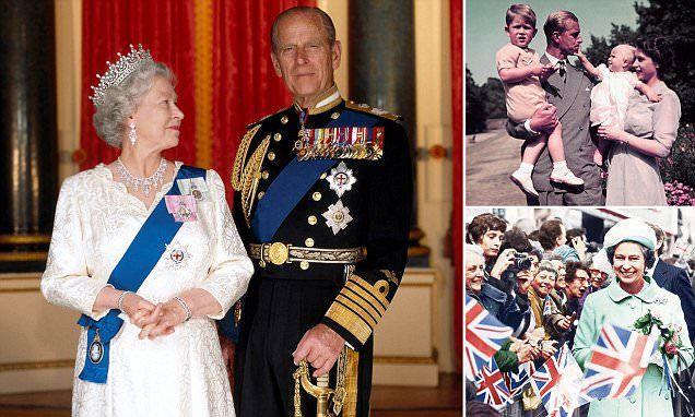 Queen Elizabeth and Philip's platinum anniversary romance | Daily Mail Online