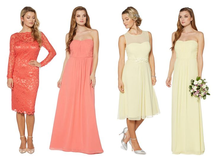 Dresses For Wedding Guest Debenhams : Best ideas about yellow lace dresses on