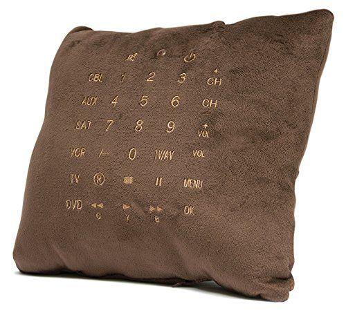 Remote Pillow - Kissen mit Universal Fernbedienung - Multimedia-Pölsterchen - Geschenkideen für Männer