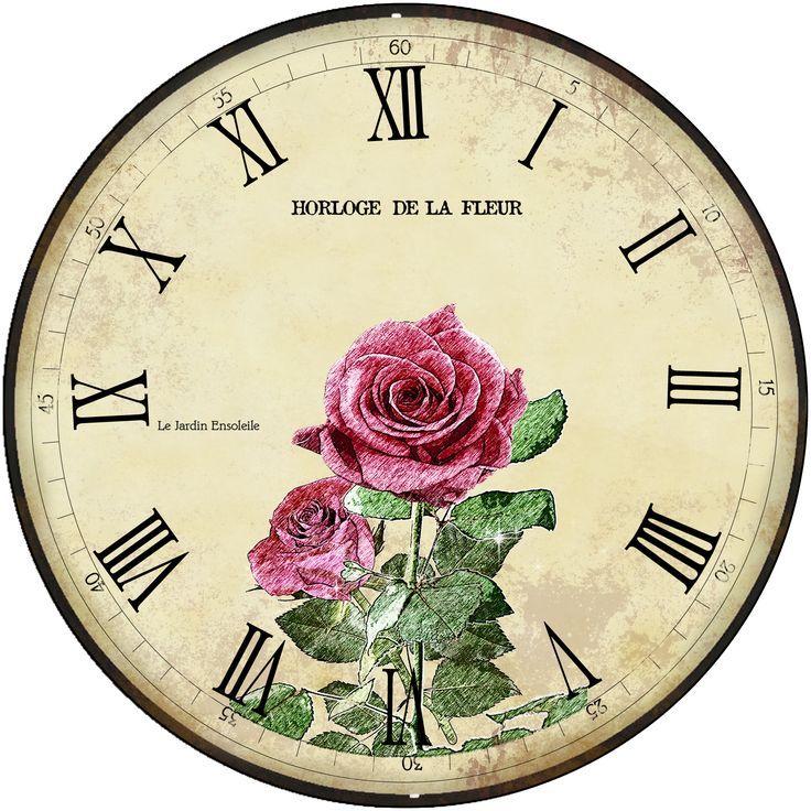 Diy Clock Ideas: 18 Best Print Diy Clock Watch Images On Pinterest