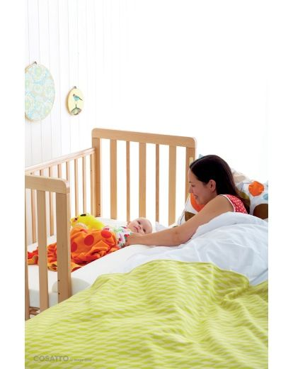 Cosatto Close To Me Bedside Cot
